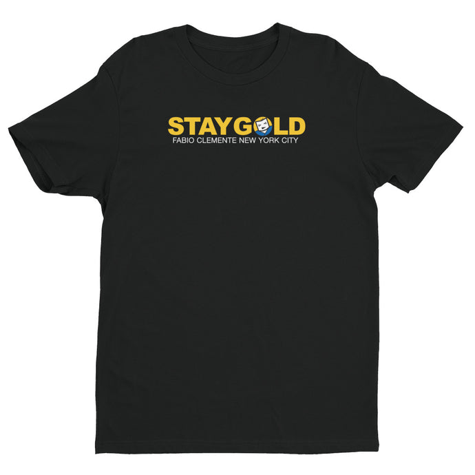 Fabio Stay Gold Short Sleeve T-shirt