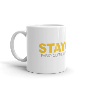 Fabio Clemente Stay Gold Coffee mug