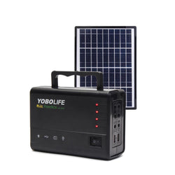 Solar Panel Generator & Solar Generator System With LED Lamp Solar Panels