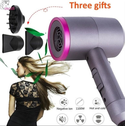 Ionic Cordless Professional Hair Travel Dryer Blower
