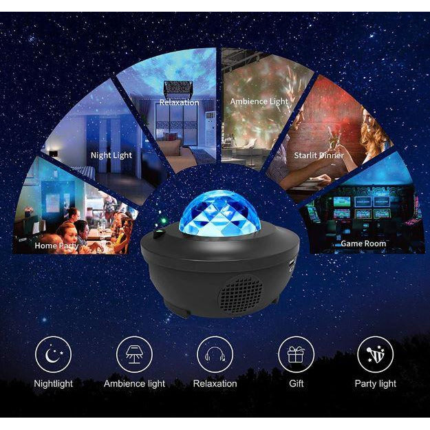 Galaxy Starry Night Projector (Remote Control)
