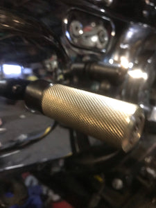 Machined toe Shifter