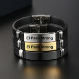 Engrave Leather Bracelet (Currently only Accepting El Paso Strong Orders)
