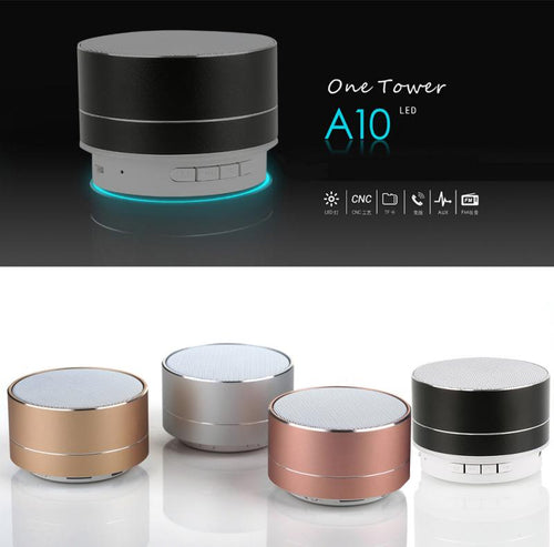 Altavoz Subwoofer Bluetooth luz LED