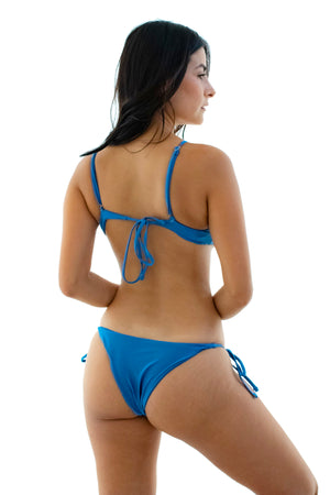 Stephanie Self-Tie String Bikini Set | Kindkinis | Los Angeles, California