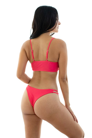 Merilyn Front-Tie Bikini Set - Kindkinis Swimwear