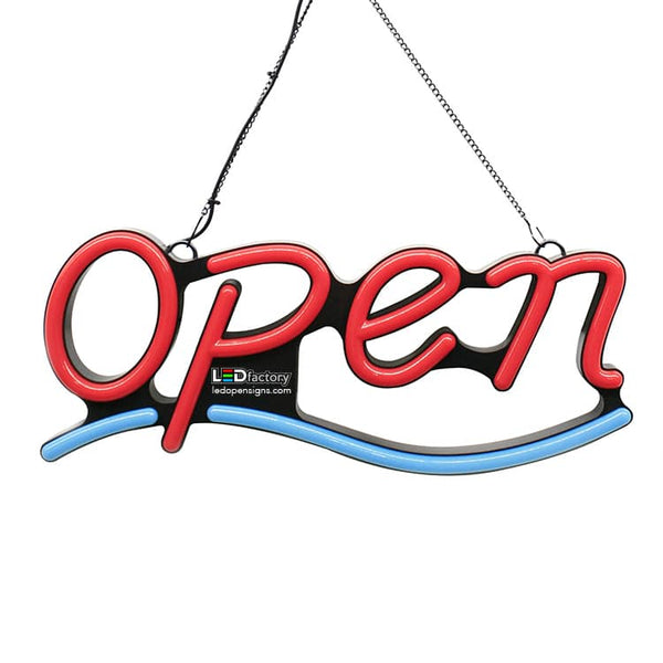 9x22 Led Neon Open Sign - 2002 - Led Open Signs