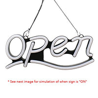 9x22 Led Neon Open Sign - 2005 - Led Open Signs