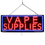 Vape Supplies - Large LED Window Sign (#2584) - Led Open Signs