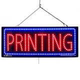 Printing - Large LED Window Sign (#2629) - Led Open Signs