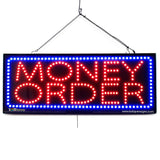 Money Order - Large LED Window Sign (#2648) - Led Open Signs