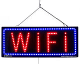WiFi - Large LED Window Sign (#2670) - Led Open Signs