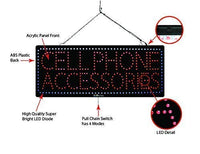 Cellphone Accessories - Large LED Window Sign (#2705) - Led Open Signs