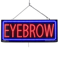 Large LED Window Sign - Eyebrow - 32 inches Wide - LED-Factory (#2721) - Led Open Signs