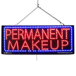 Permanent Makeup - Large LED Window Sign (#2730) - Led Open Signs