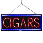 Cigars- Large LED Window Sign (#2576)