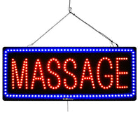 Massage - Large LED Window Sign (#2732) - Led Open Signs