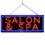 Salon & SPA - Large LED Window Sign (#2739) - Led Open Signs
