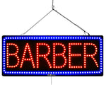 Barber - Large LED Window Sign (#3071) - Led Open Signs