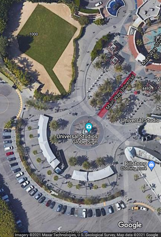 universrsal studios hollywood front gate parking location