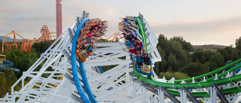 six flags magic mountain best time to visit