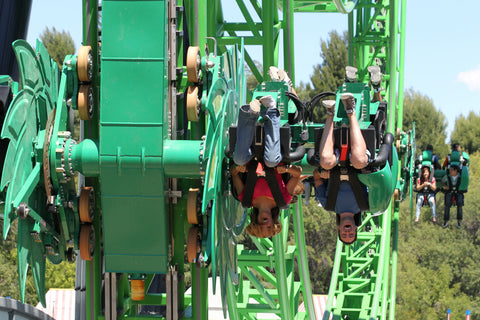 six flags rides