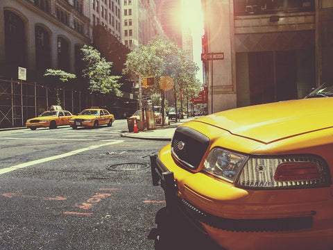 ride yellow taxi