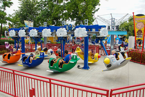 worlds of fun planet snoopy