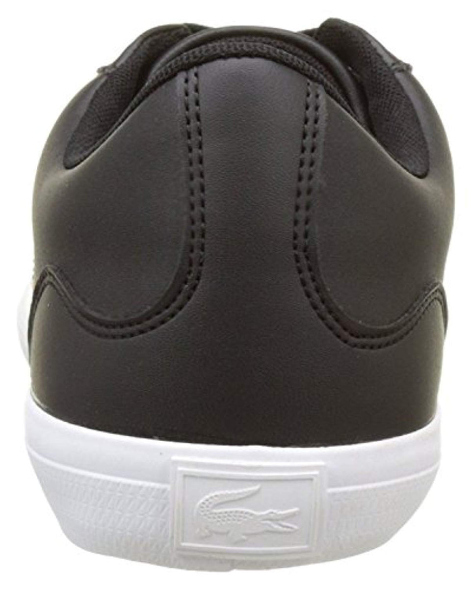 c9ad243a18f7c9  136 Lacoste Lerond BL 1 Cam Black White Leather Mens Trainers – kicks  closet nyc