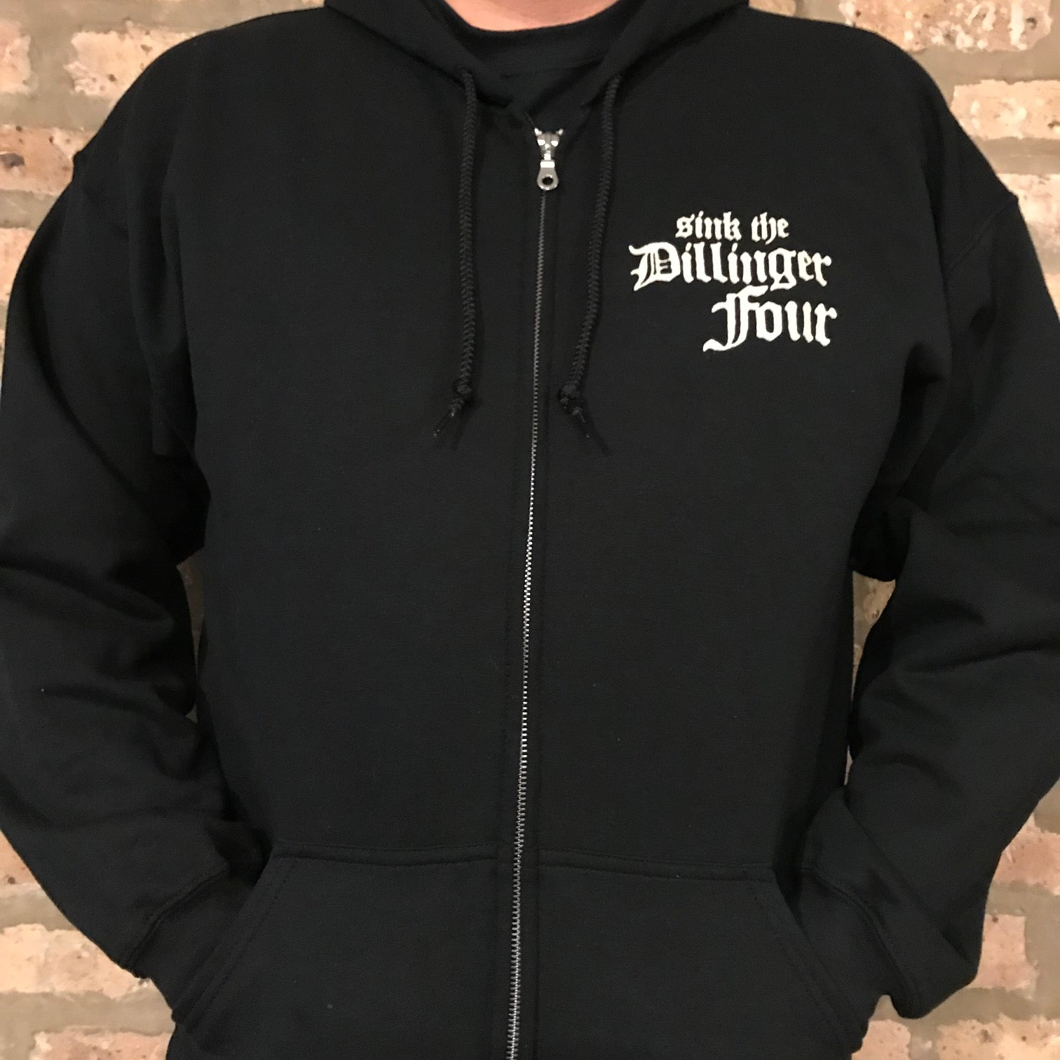 "Dillinger Four ""Stayin' Alive"" Hoodie"