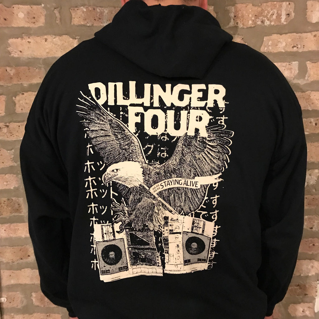 Dillinger Four - Stayin' Alive Hoodie