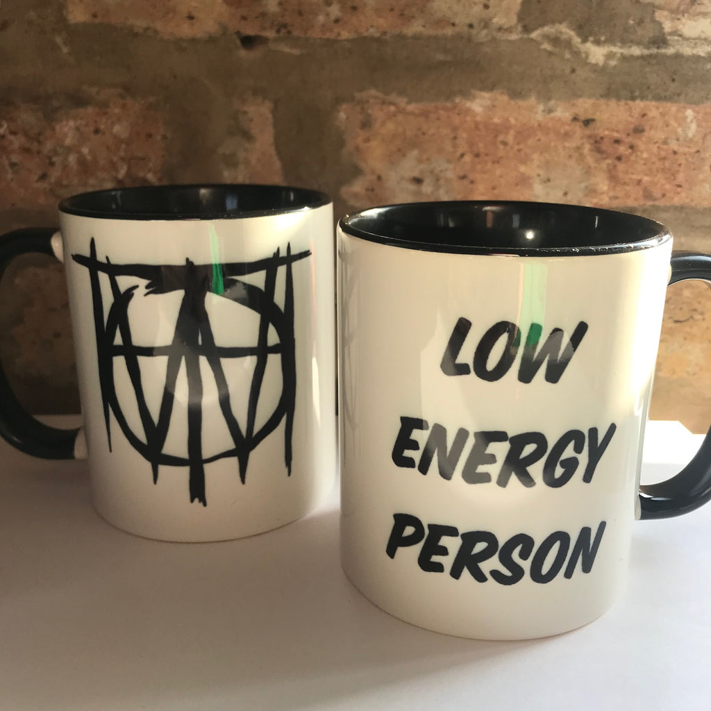 Off With Their Heads - Low Energy Person Mug
