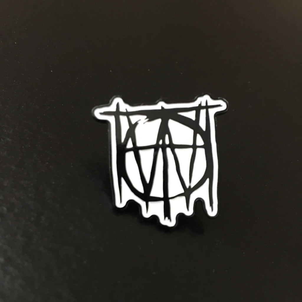 Off With Their Heads - Logo Enamel Pin