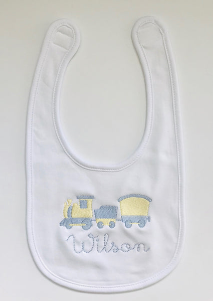 Personalized White Bib