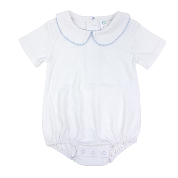 Paty White Bubble with Collar (3-6)