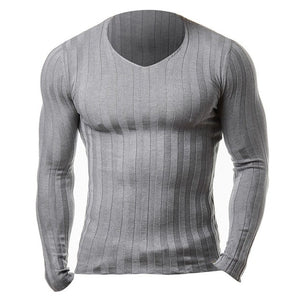 Knitted Slim Fit Long Sleeve