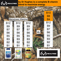 REALTREE® complete B-vitamin with B-12 and B-6