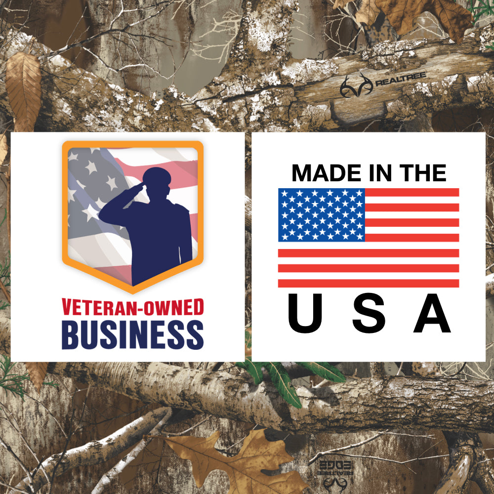 Veteran owned business and Made in America