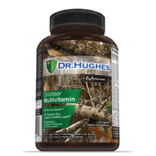 Load image into Gallery viewer, REALTREE® by Dr Hughes outdoor multivitamin front bottle