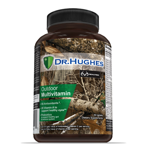 REALTREE® by Dr Hughes outdoor multivitamin front bottle