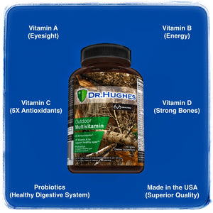 Dr Hughes Outdoor Multivitamin is a superior multi-vitamin