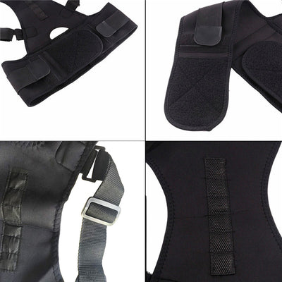 2019 Brand New And High Quality Adjustable Posture Support Brace Magnet Therapy Straps Back Neck Corrector Spine Support Brace