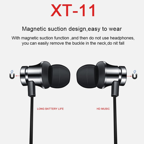 Image of Newest Wireless Headphone Bluetooth Earphone Headphone For Phone Neckband sport earphone Auriculare CSR Bluetooth For All Phone
