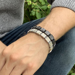 Ultra Shine - Signature Bead Bracelet in Sterling Silver | 10MM | Club Equilibrium