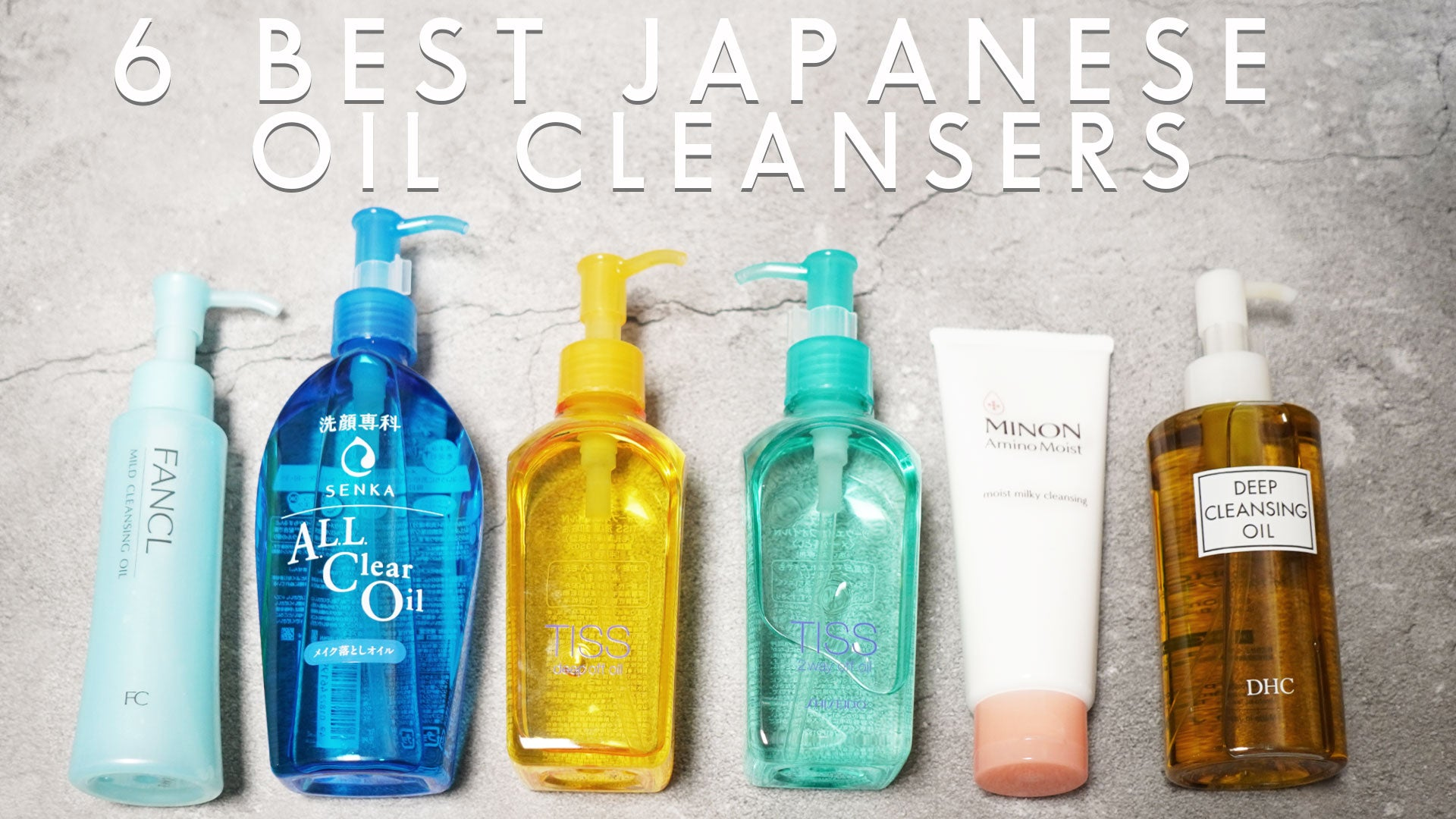 6 of the Best Japanese Cleansing Oils in 2020
