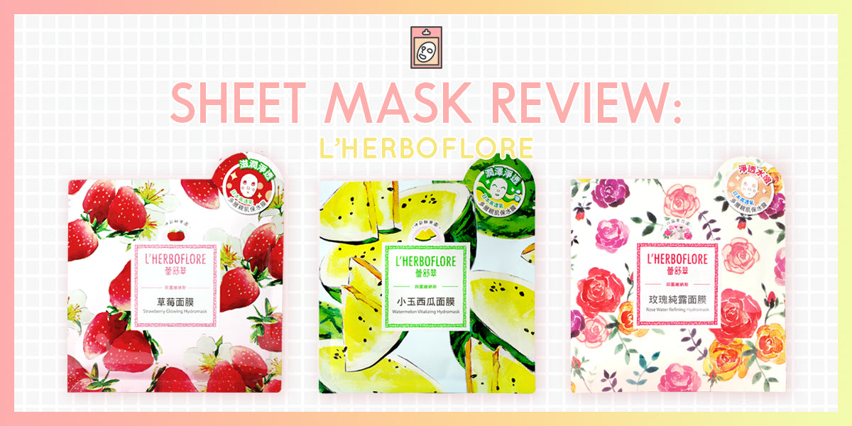 My Top 3 L'Herboflore Sheet Masks