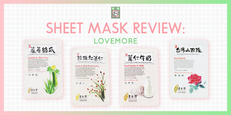 Discovering the Best Lovemore Sheet Masks: A One Month Trial
