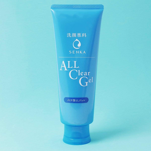 Senka All Clear Gel Cleanser and Makeup Remover