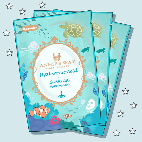 Annie's Way Hyaluronic Acid & Seaweed Hydrating Sheet Mask
