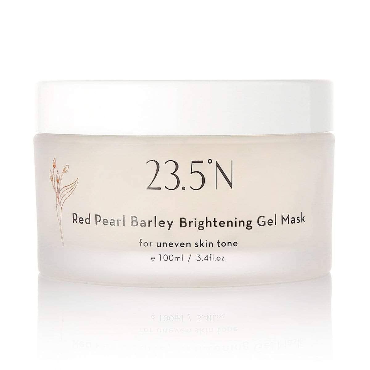 23.5N Red Pearl Barley Brightening Gel Mask
